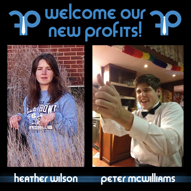 New Profits (Spring 2014 Heather and Peter)