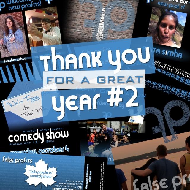 Year 2 Thanks